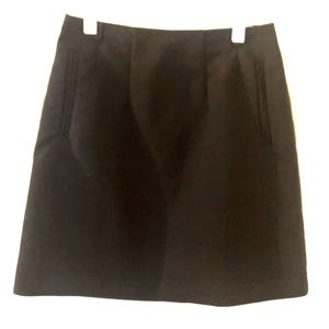 H&M Black Business Skirt size 2